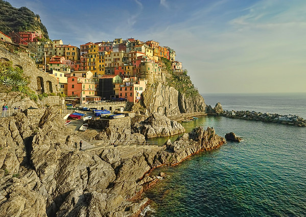 Manorola, Cinque Terre, Italy