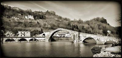 Ponte Maddelena – Devil's Bridge, Bagni di Lucca